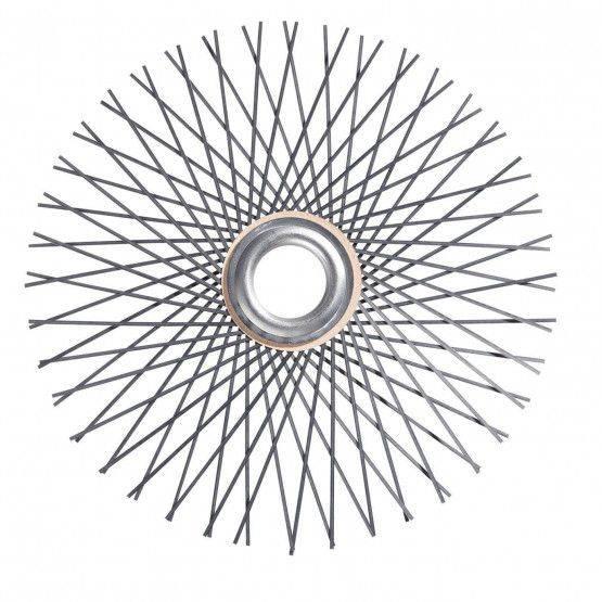 Hérisson en acier, trou Ø 28 mm