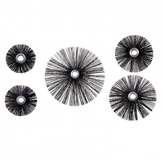 Lot de 4 brosses dures en nylon