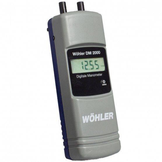 Wöhler DM 2000 en mbar