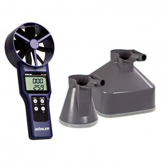 Wöhler FA 430 Thermo-anémomètre à hélice