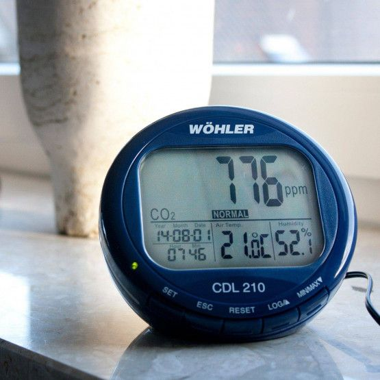 Wöhler CDL 210 Indicateur de CO2