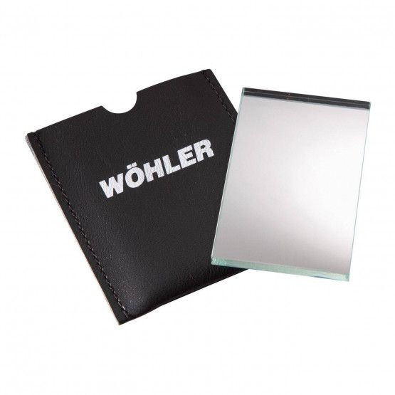 Wöhler Miroir en verre 5 x 8 cm