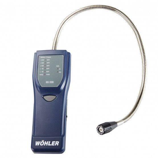 Wöhler GS 220 Détecteur de fuites de gaz