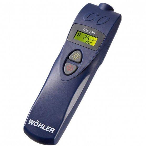 Wöhler CM 220 Détecteur de monoxyde de carbone