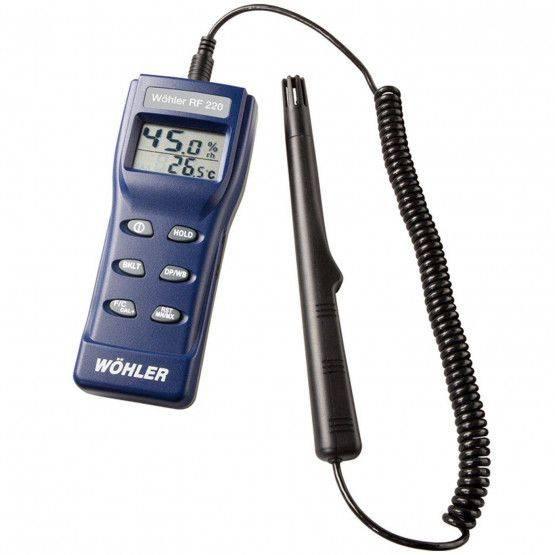 Wöhler RF 220 Thermo-hygromètre