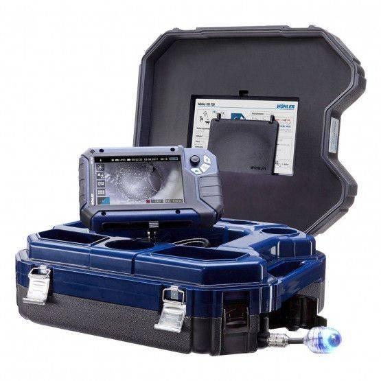 Wöhler VIS 700 Système d'inspection vidéo HD