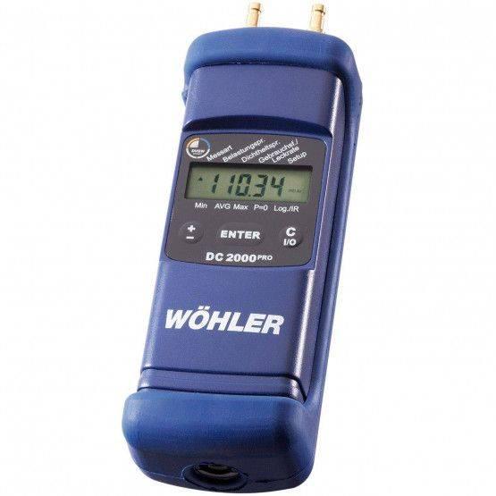 Wöhler DC 2000PRO Manomètre-multi-fonctions