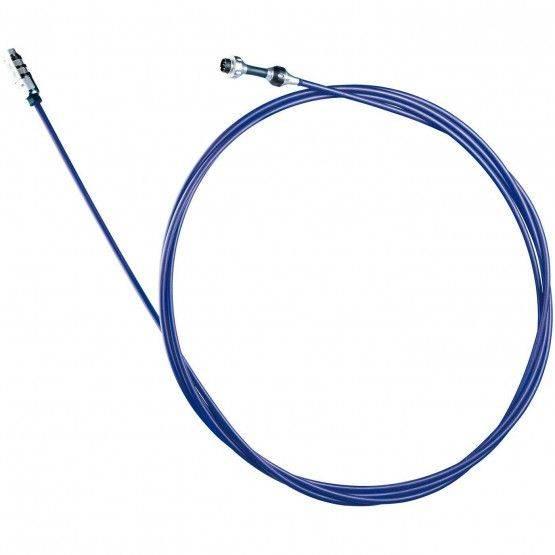 Câble de caméra bleu, fibre de verre