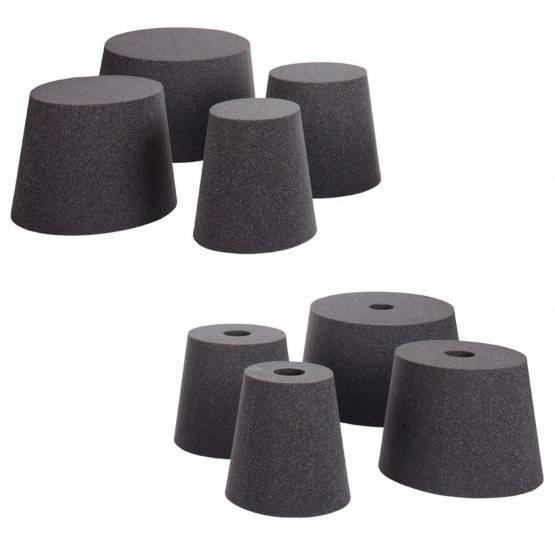 Eléments d'étanchéité cylindriques